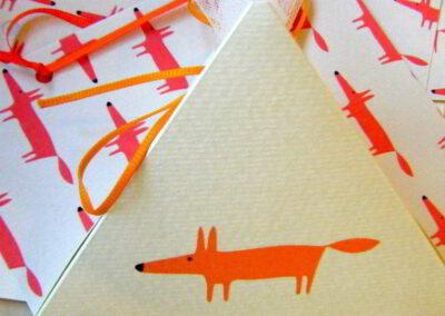 The orange fox!